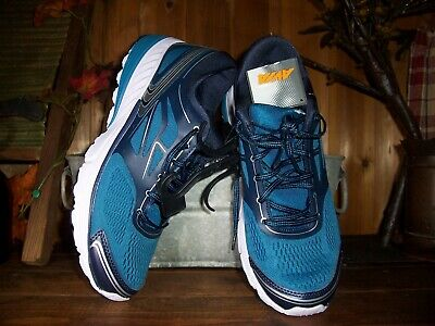 Avia Ladies Womens Athletic Sneakers Shoes Size 8 Blue Lace Up Arch Support Ne • 25.32£