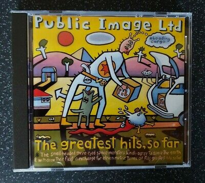 Public Image Ltd - The Greatest Hits, So Far (CD 1990) • 1.99£
