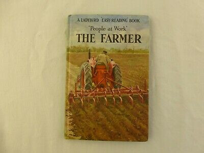 Ladybird Book  People At Work  The Farmer • 4.95£