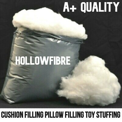 £8.90 • Buy Hollowfibre Virgin Polyester Filling Soft Stuffing Toy Teddy Bear Cushion Pillow