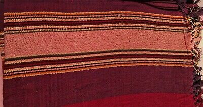 £14.99 • Buy Brand New: Reds Stripe Mexican Fringed Throw 196  X 168