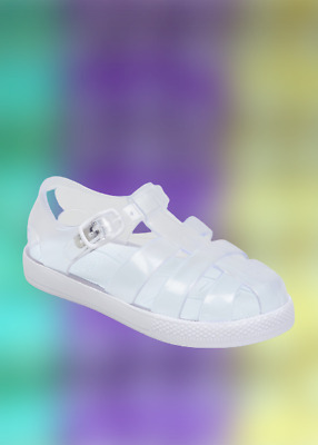 £8.99 • Buy Kids BNWT Clear Caged Jelly Shoes  Sandals Matalan Sz 4 5 6 8 9 10 11 12 (ST102)