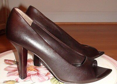 £26.62 • Buy Jil Sander Elegant Leather Women's Shoes Us 8 M It 38 Made In Italy