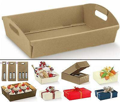 $ CDN28.30 • Buy Set N.10 Tray Basket Box For Favours Cm.40x30x10H Wave Havana With Handles