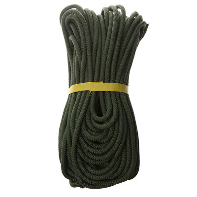 Outdoor Escape Fire   Rock Climbing Rappelling Auxiliary Rope Cord 40M • 40.91£