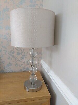 £20 • Buy Lovely Glass Ball Design Table Lamp And Shade