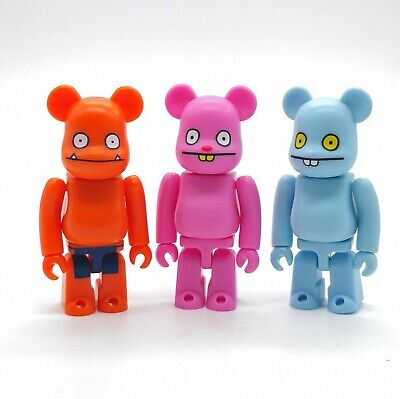 $29.99 • Buy Uglydoll BearBrick 100% Lot Of 3 Wage, Trunko & Babo
