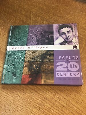 Spike Milligan Legends Of The 20th Century Emi Uk Card Sleeve Cd Audio Book • 6£