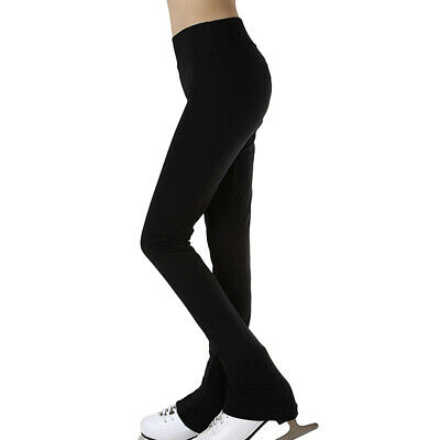 Ice Skating Pants Girls' Women's Figure Skating Tights Trousers Stockings M • 19.56£