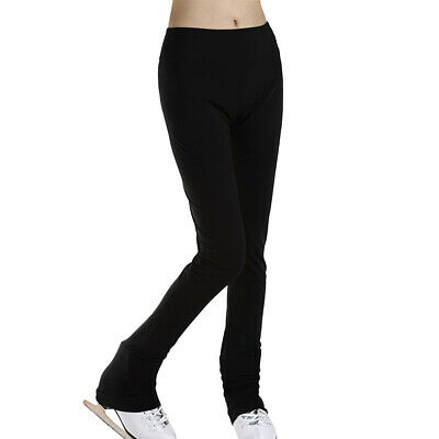 Ice Skating Pants Girls' Women's Figure Skating Tights Trousers Stocking XL • 20.19£