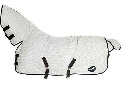 Masta Fixed Neck Summer Turnout/Stable Sheet/Rug 5'3  6'0  7'0  7'3  Rrp~£52 • 36.50£