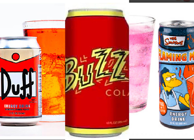$ CDN76.11 • Buy SIMPSONS Movie Lot KRUSTY Os Cereal Duff FLAMING MOE Energy Drink BUZZ COLA NEW