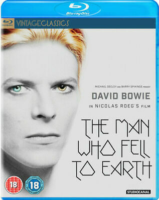 The Man Who Fell To Earth Blu-Ray (2016) David Bowie (New And Sealed) • 12.99£
