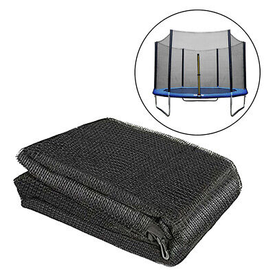 £79.35 • Buy 15' Trampoline Enclosure Net PE 10 Pole Protector Netting Surrounded Outside Net