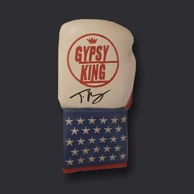 AU325.04 • Buy Tyson Fury Signed Boxing Glove