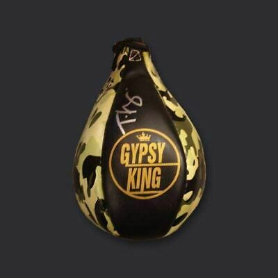 AU406.32 • Buy Tyson Fury Signed Boxing Speedball.