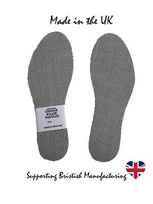 £2.65 • Buy Ladies Mens Thin Perforated Shoe Trainer Insoles 3 4 5 6 7 8 9 10 11 12 13 14 15