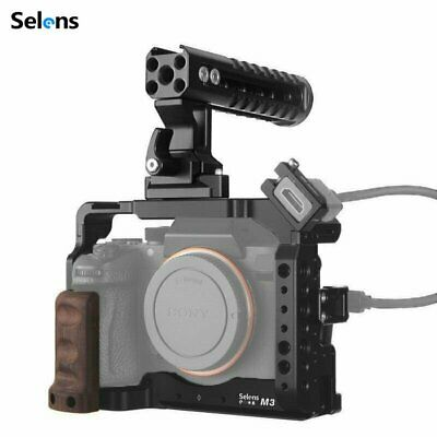 $ CDN58.89 • Buy Camera Cage Rig Top Handle Grip For Sony A7III A7R3 A7M3 A9 Accessories