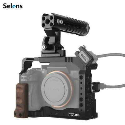 $ CDN75.63 • Buy Camera Cage Rig Top Handle Grip For Sony A7III A7R3 A7M3 A9 Accessories