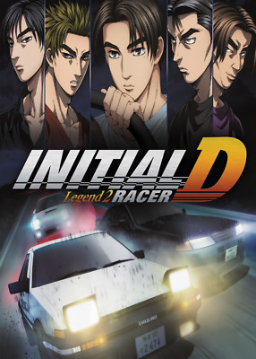 AU9.72 • Buy  New Initial D The Movie Legend 2 Racer Anime Poster Art Print Wall Room Decor