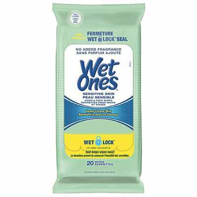 $ CDN4.99 • Buy Wet Ones Sensitive Skin - Hand & Face Wipes (20 Wipes)