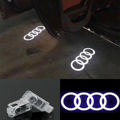 $ CDN37.57 • Buy 4x LED Courtesy Step Door Light Quattro Logo Projector For Audi A4 A6 A8 Q7 TT