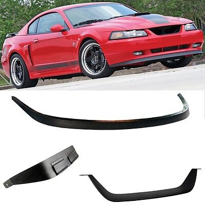 $78.99 • Buy Fits 99-04 MUSTANG MACH 1 Chin Spoiler And Grille MOD Bottom Lip 99-04 GT, V6