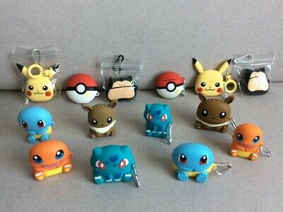 $ CDN11.27 • Buy Pokemon Ball/Pikachu/Snorlax/Squirtle Airpods 1/2/Pro Case Cover Skin Keychain