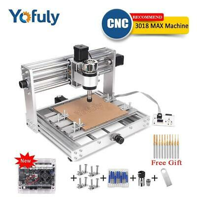 CNC 3018 Pro Max Metal Engraving Machine GRBL Control With 200w Spindle DIY 15w • 326.29£