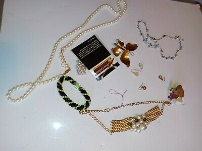 $ CDN19.07 • Buy Old Vintage To Now Unsearched Untested Junk Drawer Estate Jewelry  Bag Lot 144g