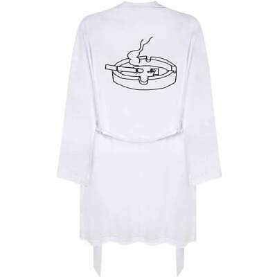 $ CDN43.20 • Buy 'Cigarette In Ashtray' Adult Dressing Robe / Gown (RO020919)