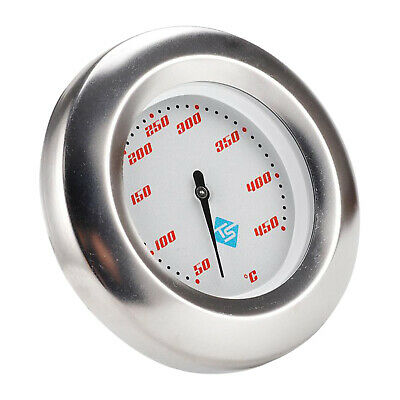 BBQ Grill Thermometer Cooking Dial Temp Gauge Smoker Temperature Thermostat • 7.44£