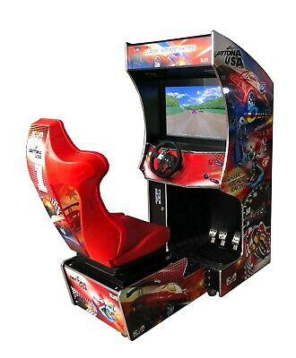 £2800 • Buy Driving Arcade Machine - 107 Built In Games - The Only 1 Available In The Uk!!!