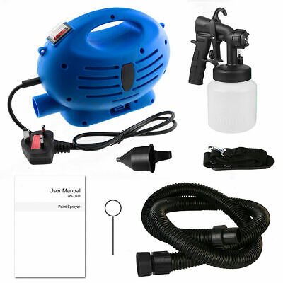 £29.59 • Buy 800ml Electric Paint Spray Gun Lacquer Fence Garden Wall DIY Stain 650W New