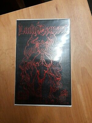 LADY DEATH IN LINGERIE #1 Ltd To 2000 Copies-Red Leather Micro Premium Edition • 40£