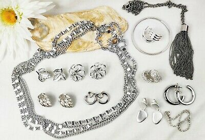 $ CDN58.07 • Buy High End Silver Tone Jewelry Lot Vintage Modern Signed SARAH COVENTRY MONET CORO