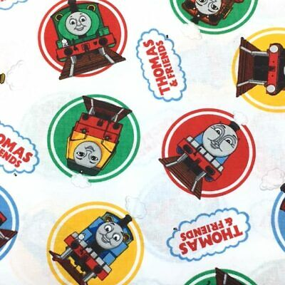 £3.25 • Buy Thomas The Tank Engine© And Friends Classic 100% Cotton Fat Quarter, Half Or ...