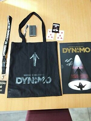 £20.50 • Buy Dynamo 2015 Set. Seeing Is Believing. Signed Programme,VIP Lanyard, Card And Bag