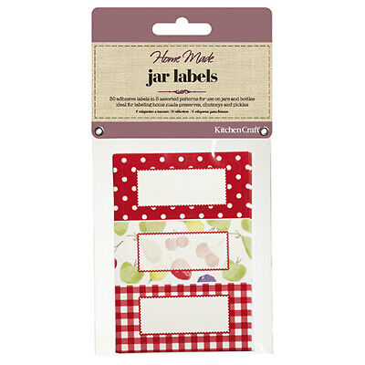 Home Made Pack Of Thirty Self-Adhesive Jam Jar Labels - Orchard • 7.41£