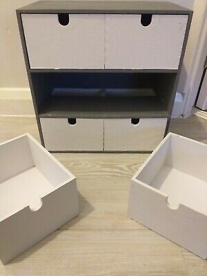 IKEA MOPPE Wooden Mini Chest Of Drawers • 9£