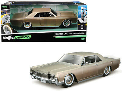 $29.95 • Buy 1966 Lincoln Continental  Classic Muscle  1:26 Diecast Model - Maisto 32531GLD*