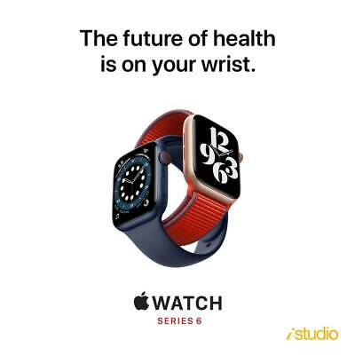 $ CDN599.99 • Buy Apple Watch Series 6 44mm GPS + CELLULAR Aluminium With Sport Band -NEW SEALED