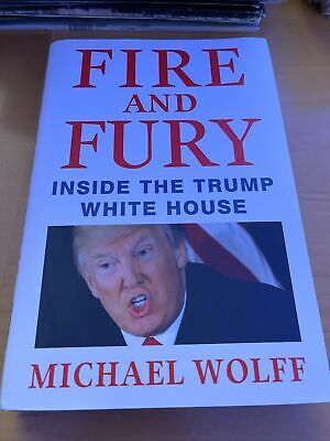 AU5.13 • Buy Fire And Fury: Inside The Trump White House - Hardcover - New