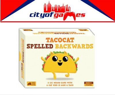AU35.95 • Buy Tacocat Spelled Backwards (By Exploding Kittens) Board Game New