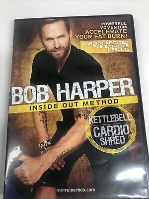 Bob Harper Inside Out Method Kettlebell Cardio Shred - DVD - New & Sealed • 3.53£