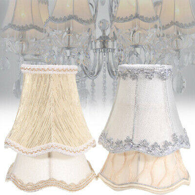 Lace Lampshade Cotton Textured Fabric Drum Shade Table Ceiling Light Cover Jgb • 3.99£