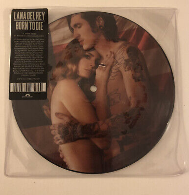 """LANA DEL REY - BORN TO DIE (7"""" VINYL PICTURE DISC) (New Never Played) RARE • 149.95£"""