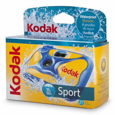 £14.96 • Buy Kodak Ultra Sport Underwater Disposable Camera - 27 Exp