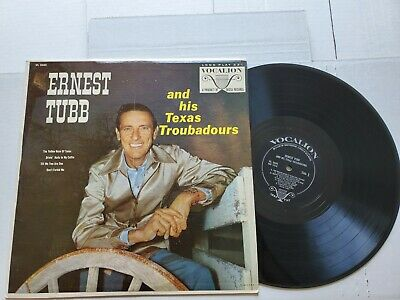 £14.58 • Buy ERNEST TUBB And His Texas Troubadours - S/T 1960 COUNTRY Vocalion Promo