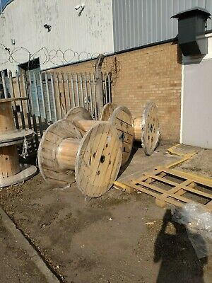 Wooden Cable Drum / Reel • 40£